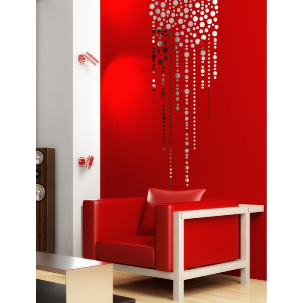 stickers salon salle manger stickers gouttes. Black Bedroom Furniture Sets. Home Design Ideas