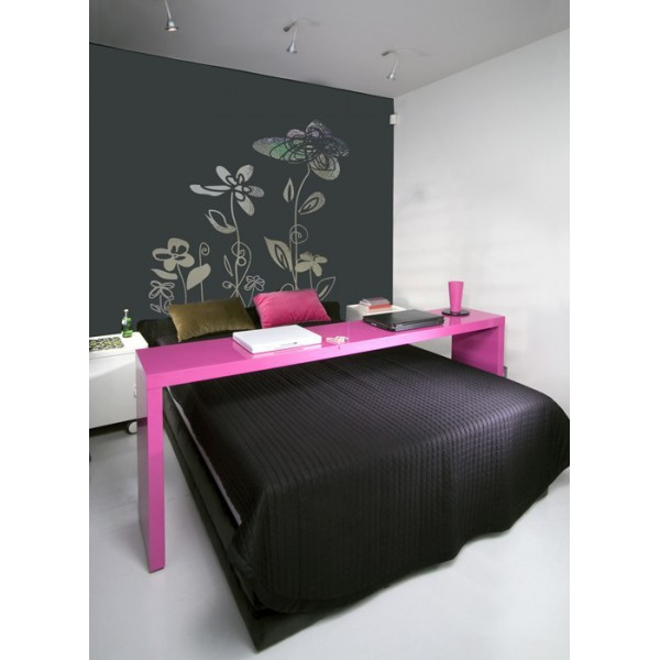 stickers miroir stickers ludiflore 1 effet miroir. Black Bedroom Furniture Sets. Home Design Ideas