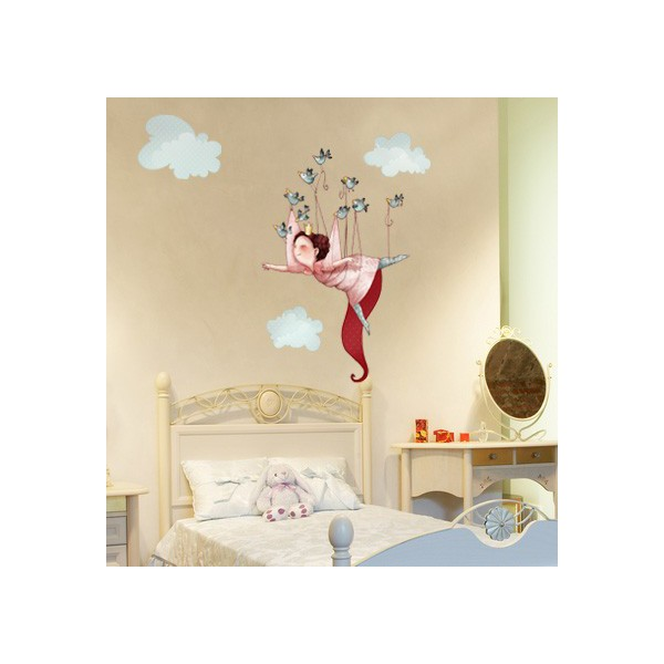 Stickers princesse chambre fille - Tickers chambre fille princesse ...