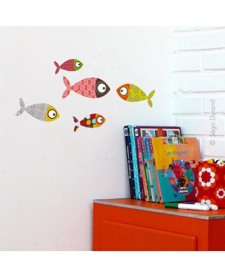 Stickers Petits Poissons 1