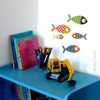 Stickers Petits Poissons 2